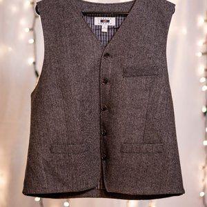 LIKE NEW Men's Tweed Vest